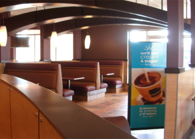 Interior McD Completion